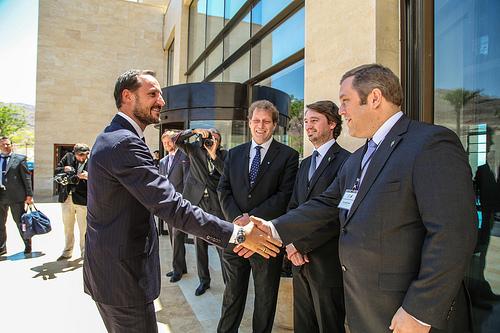 Sahara Forest Project møter kronprinsen