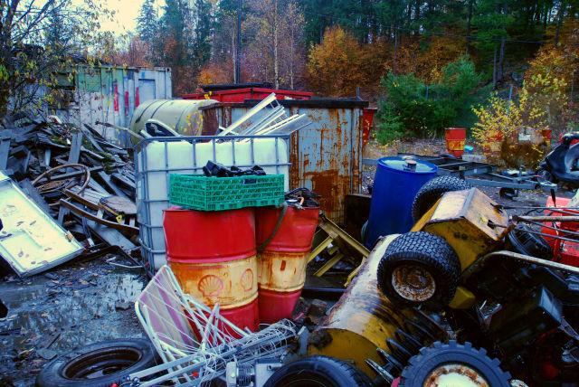 Andebu kommune har lenge visst om den ulovlige dumpingen av farlig avfall.